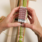 Cards on a loom