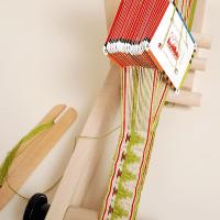 Cards on a loom