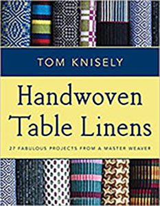 handwoven table linens tom knisley
